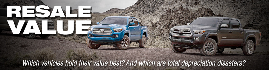 Re Value Which Vehicles Hold Their Best And Are Total Depreciation Disasters